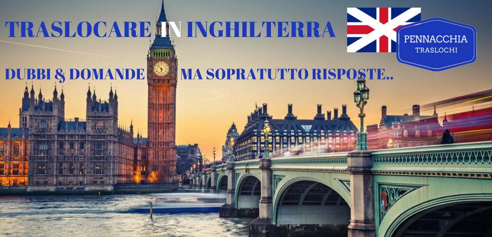 TRASLOCO A LONDRA, TRASLOCARE IN INGHILTERRA, trasloco italia inghilterra, trasloco milano londra